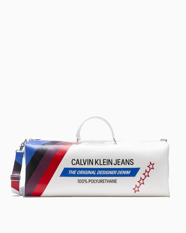 CALVIN KLEIN RETRO PRINT DUFFLE BAG