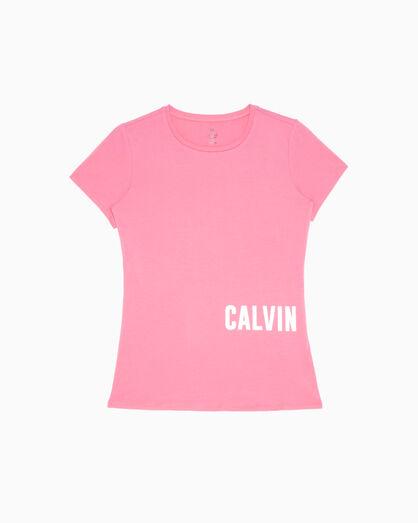 CALVIN KLEIN GRAPHIC STORY 로고 슬림핏 티셔츠