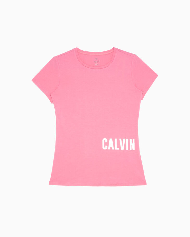 CALVIN KLEIN GRAPHIC STORY LOGO SLIM FIT TEE