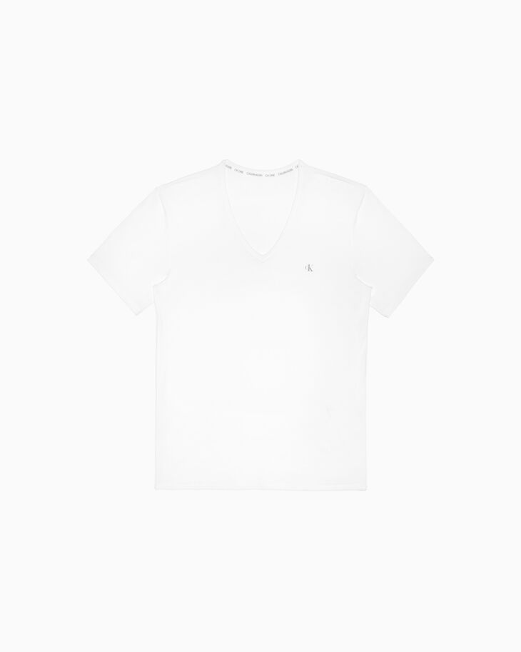 CALVIN KLEIN CK ONE COTTON V NECK TEE