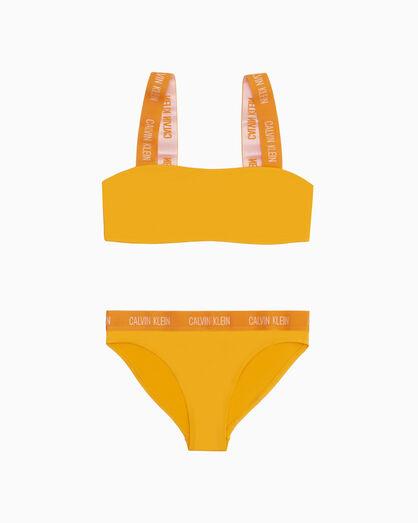 CALVIN KLEIN GIRLS 平口泳裝組