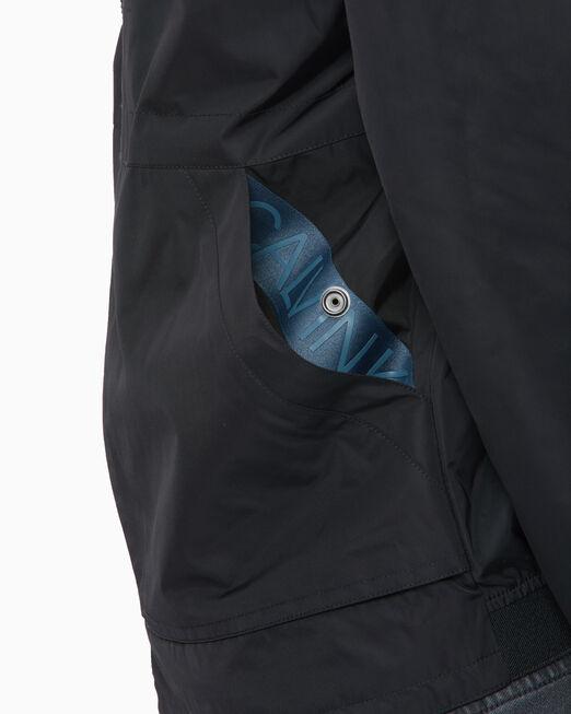 CALVIN KLEIN DOUBLE COLLAR 재킷