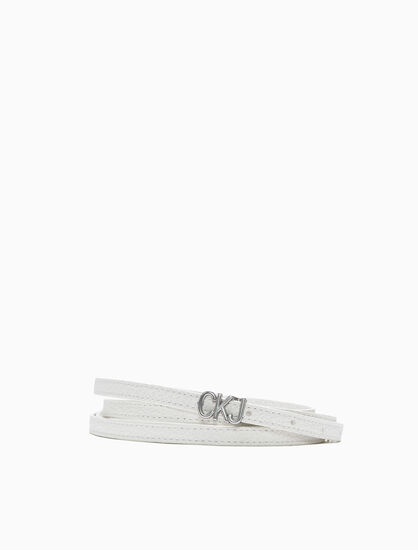 CALVIN KLEIN DOUBLE WRAP BELT