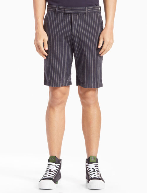 CALVIN KLEIN HAYDEN STRIPED SHORTS