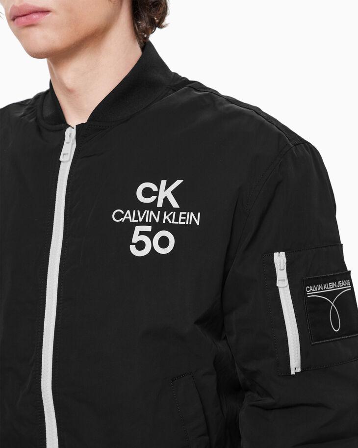 CALVIN KLEIN MEN CK50 LOGO BOMBER