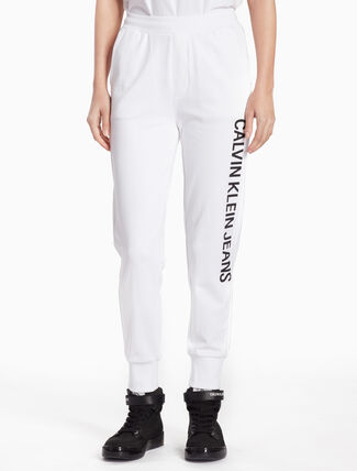 CALVIN KLEIN INSTITUTION LOGO SWEATPANTS
