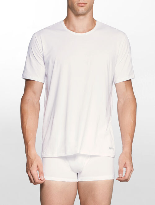 CALVIN KLEIN CK BLACK コットンショートスリーブクルーネックTシャツ