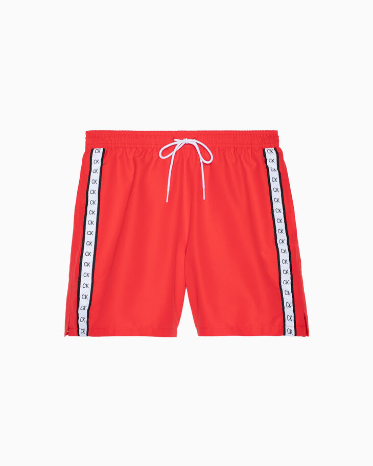 CALVIN KLEIN CORE MONOGRAM TAPE MEDIUM DRAWSTRING SHORTS