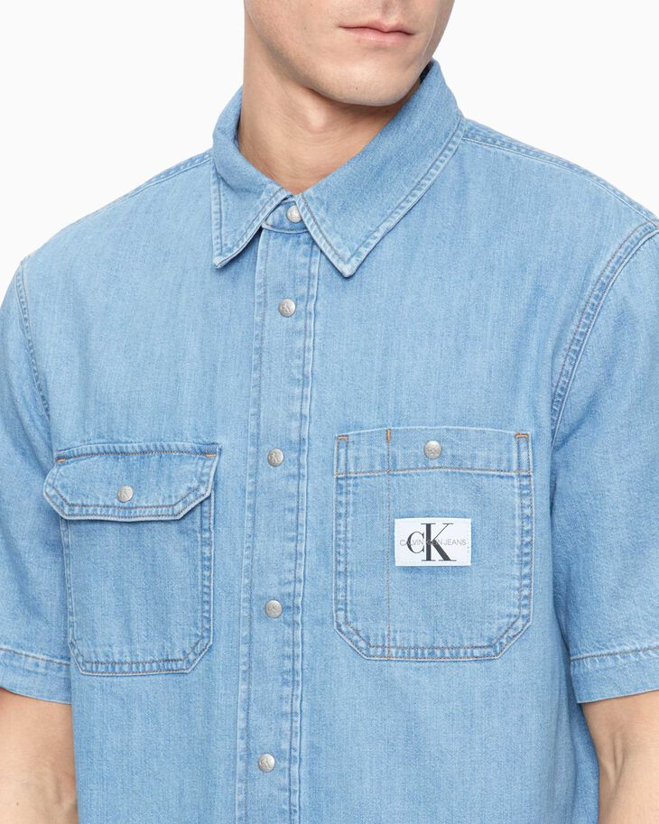 CALVIN KLEIN SUSTAINABLE ICONS UTILITY SHIRT