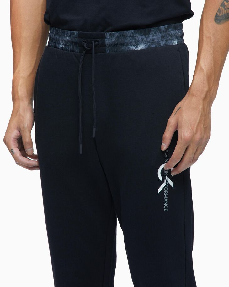 CALVIN KLEIN ORGANIC MOTION KNIT SWEAT PANTS