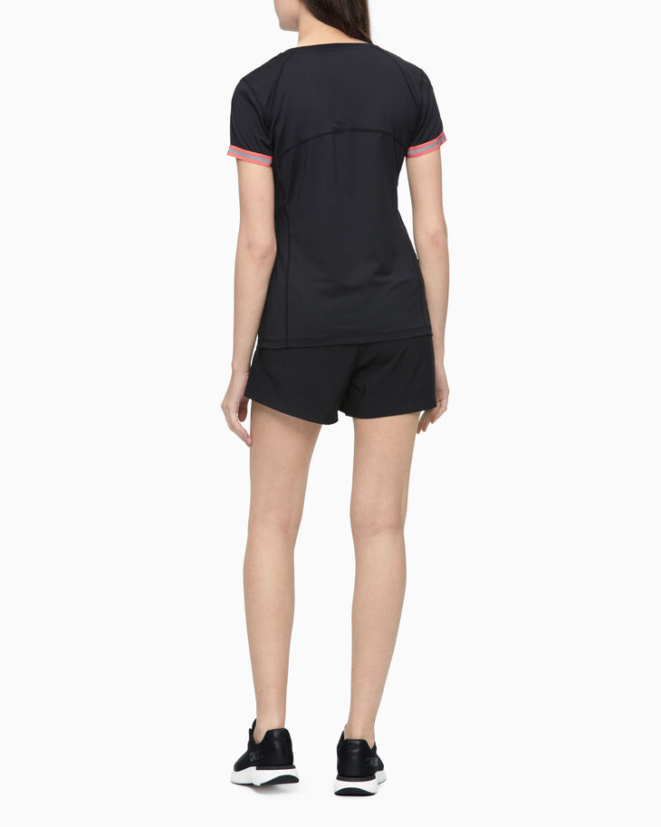 CALVIN KLEIN COOLCORE COLOR TAPE SLIM TEE