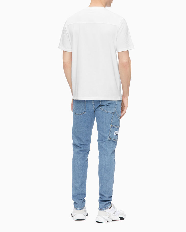 CALVIN KLEIN SUSTAINABLE ICONS UTILITY BODY TAPER JEANS