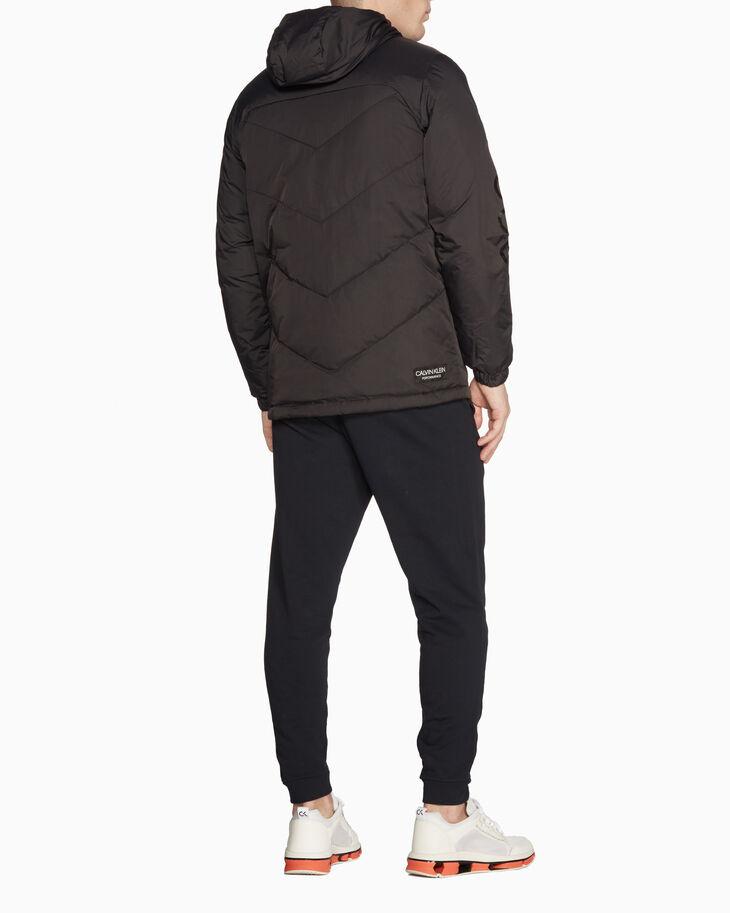 CALVIN KLEIN 후드 다운 재킷