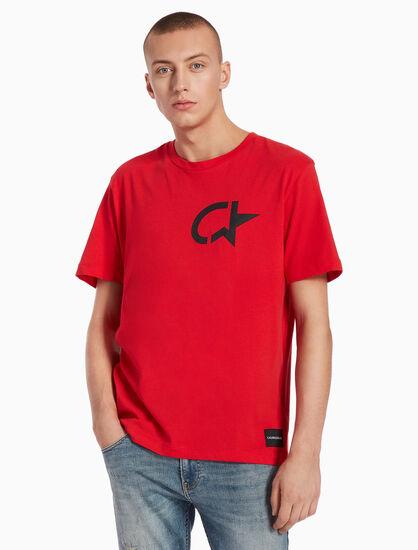 CALVIN KLEIN FERGUS CK STAR 上衣