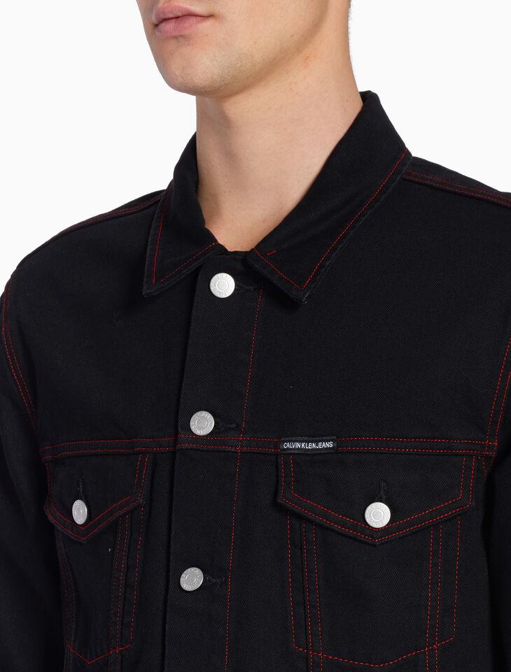 CALVIN KLEIN CNY ARCHIVE 트럭커 재킷