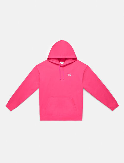 CALVIN KLEIN ICON EMBROIDERED HOODIE