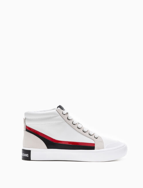 CALVIN KLEIN DORIS LACE-UP SNEAKERS