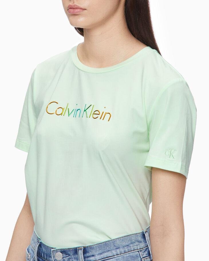 CALVIN KLEIN GRADIENT ロゴ T シャツ