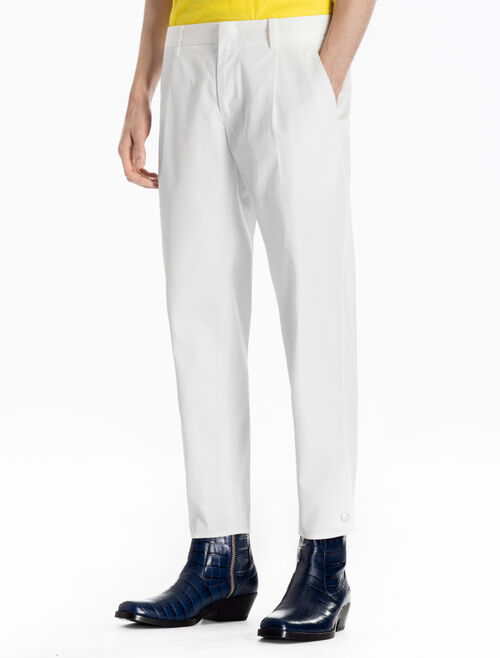 CALVIN KLEIN TAPERED WOVEN PANTS