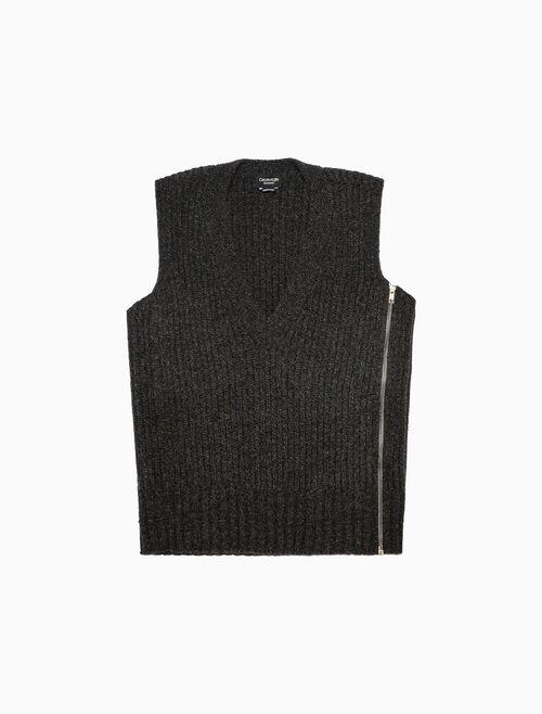 CALVIN KLEIN OVERSIZED V-NECK 니트 스웨터 베스트