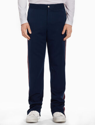 CALVIN KLEIN Track pants with striped bands
