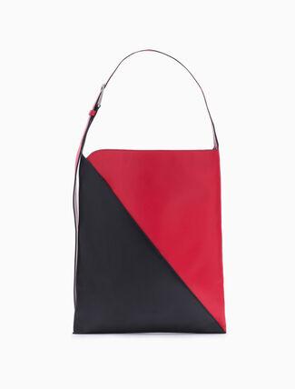 CALVIN KLEIN SLICED SMALL HOBO BAG