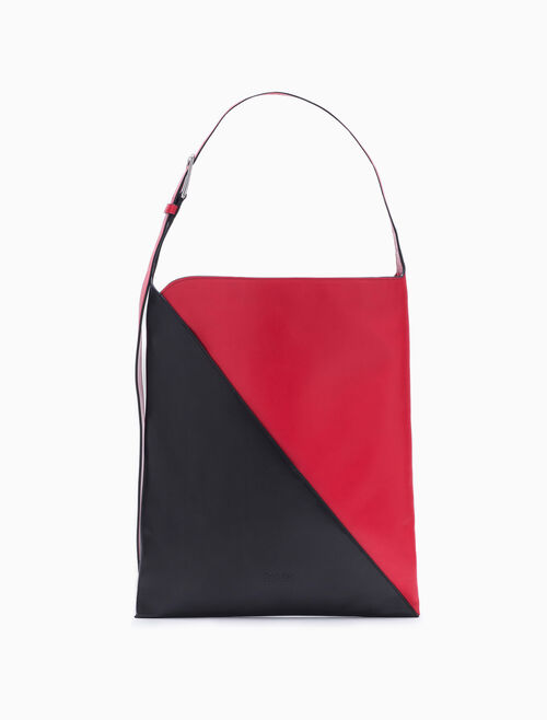 CALVIN KLEIN SLICED SMALL HOBO BAG