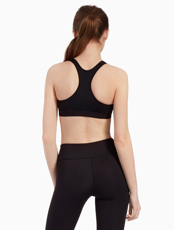 CALVIN KLEIN COLOR PANEL RACERBACK BRA