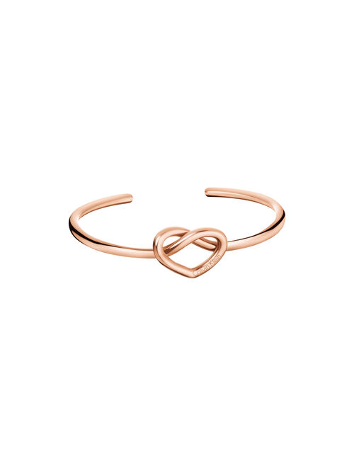 CALVIN KLEIN CHARMING OPEN BANGLE