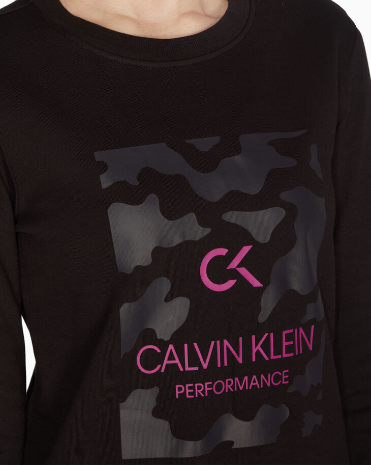 CALVIN KLEIN GRAPHICS BILLBOARD PULLOVER SWEATER