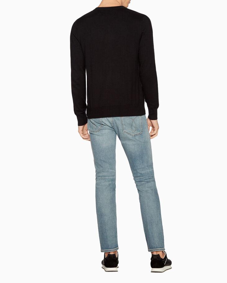 CALVIN KLEIN CASHMERE BLEND 스웨터