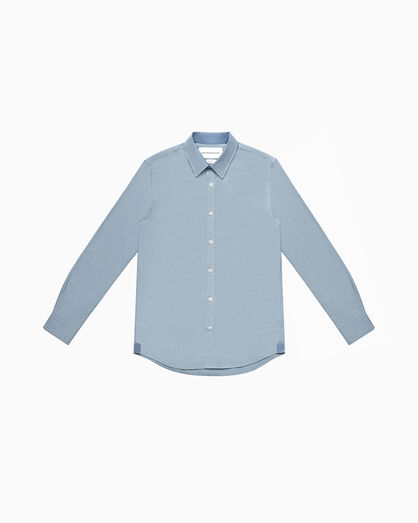 CALVIN KLEIN SLIM CHAMBRAY SHIRT