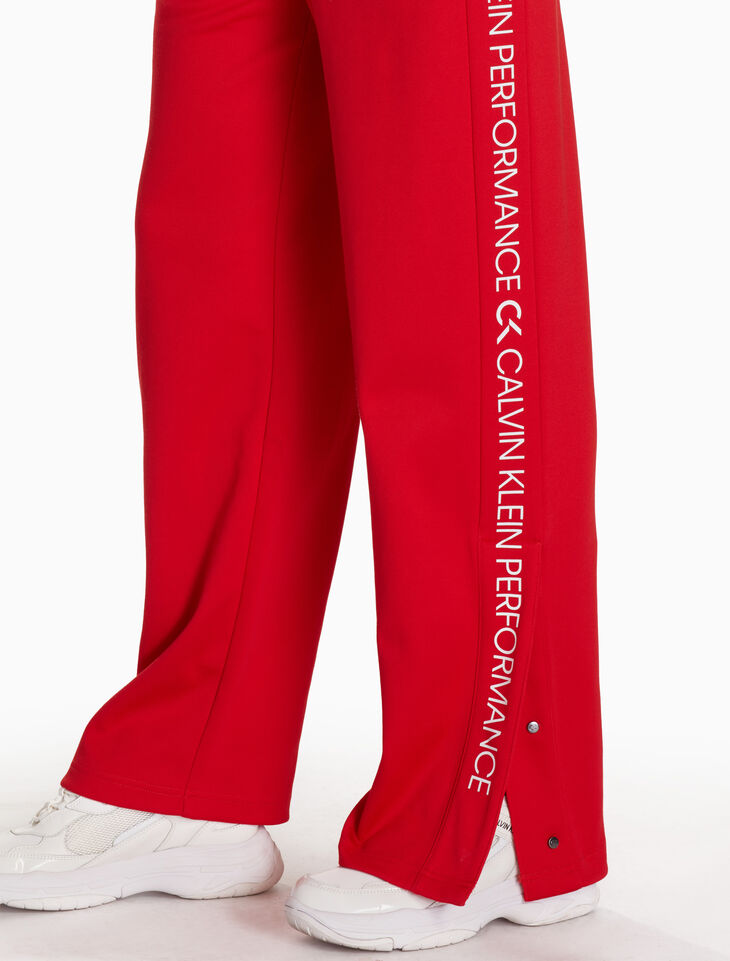CALVIN KLEIN KNIT LOGO SWEATPANTS