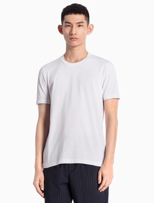 CALVIN KLEIN 패턴 로고 KNITTED 티셔츠