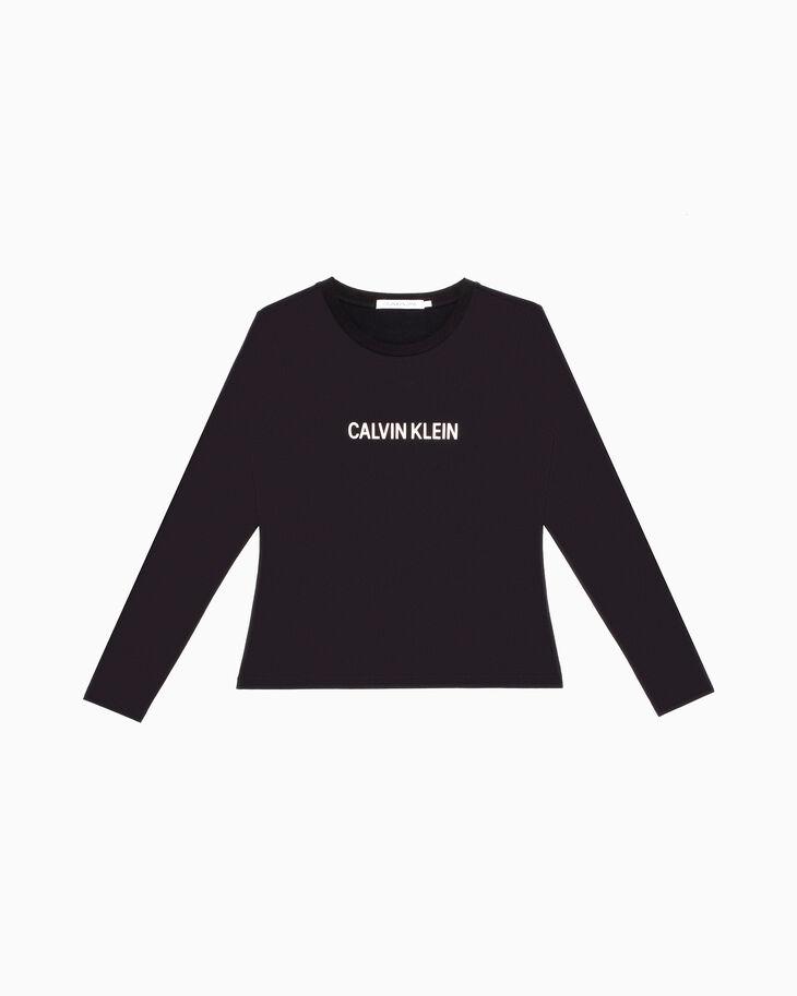 CALVIN KLEIN CALVIN LOGO 슬림 티셔츠