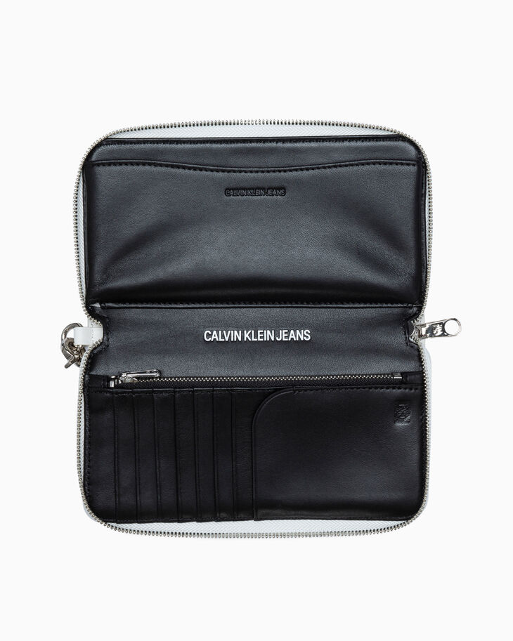 CALVIN KLEIN CKJ BOX OFFICE ZIP AROUND PHONE WALLET