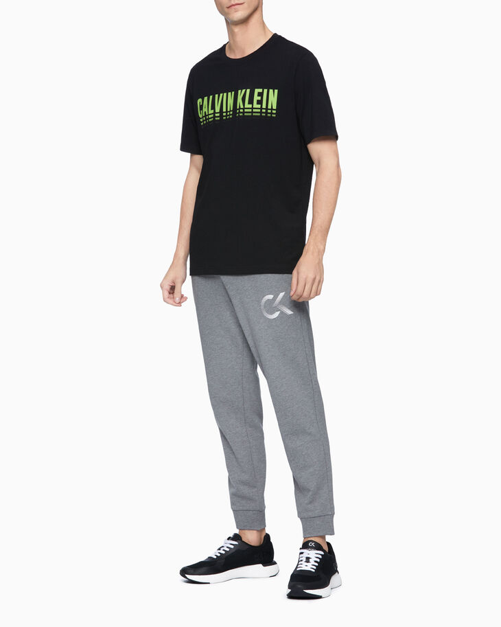 CALVIN KLEIN STATEMENT ESSENTIALS LOGO TEE