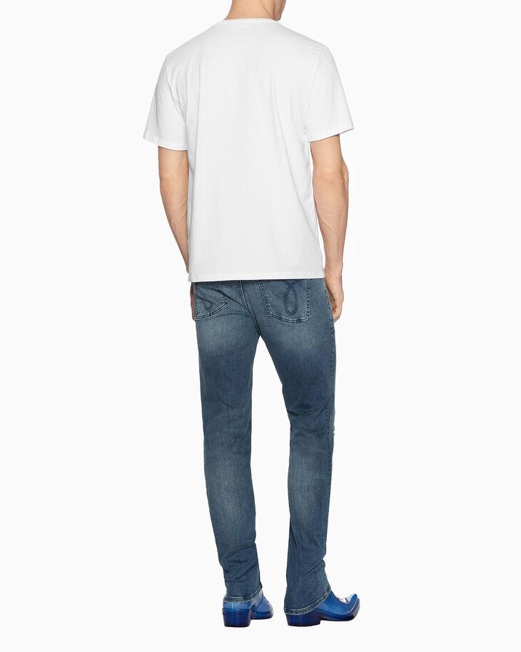 CALVIN KLEIN PATCHWORK 프린트 티셔츠