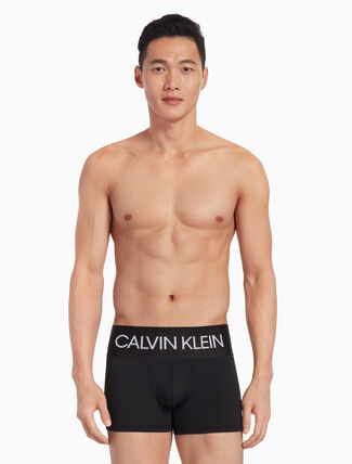 CALVIN KLEIN KNIT LOGO TRUNKS