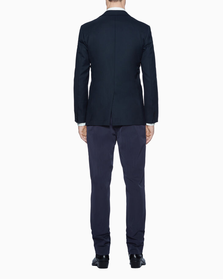 CALVIN KLEIN UNIFORM WOOL BLAZER - FULLY LINED