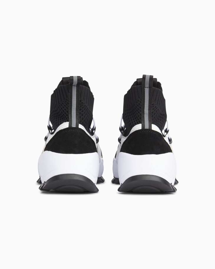 CALVIN KLEIN CHUNKY KNIT TOP SNEAKERS