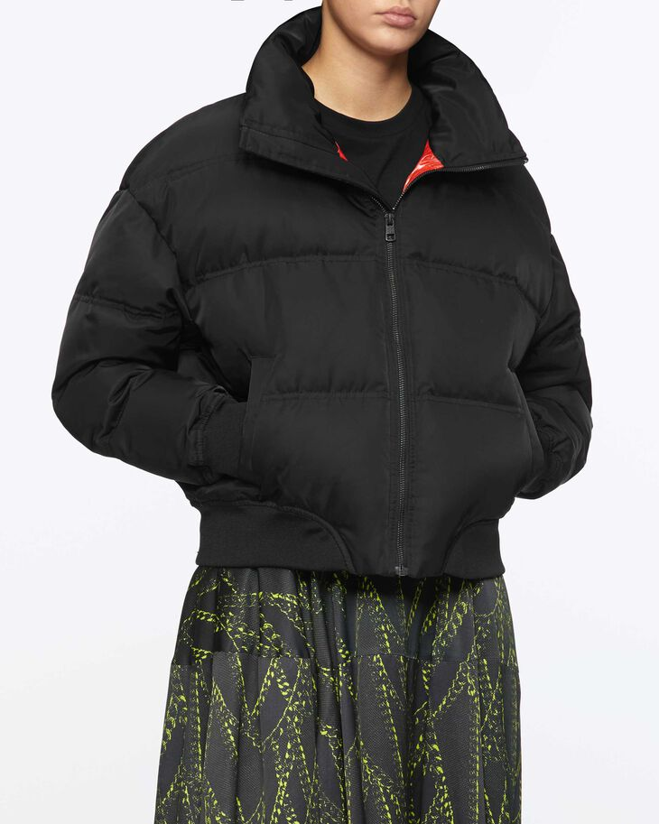 CALVIN KLEIN PACKABLE STAND COLLAR PUFFER JACKET