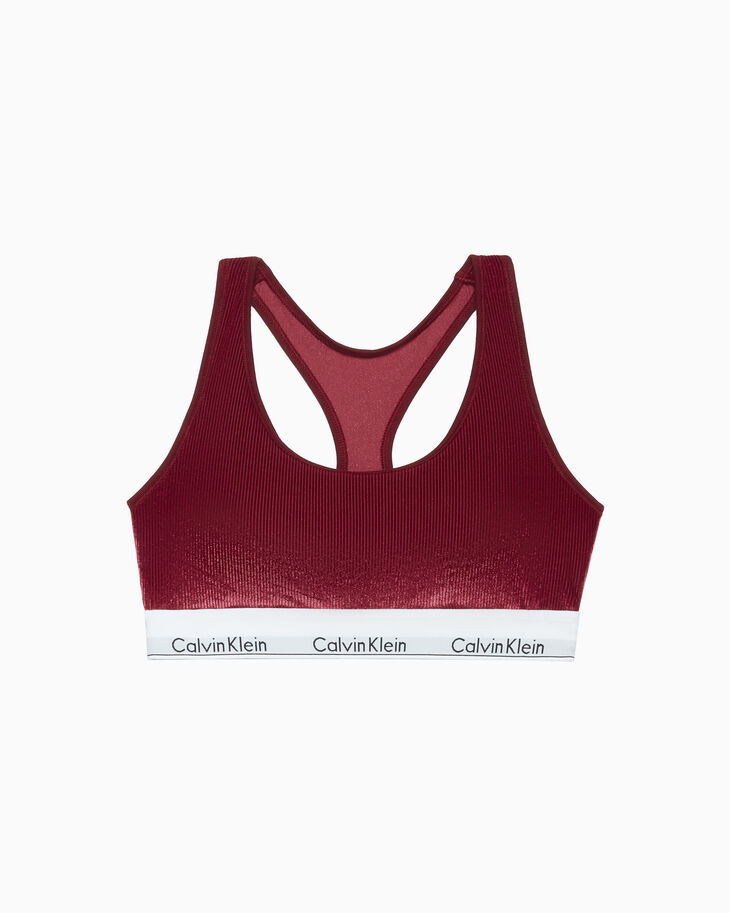 CALVIN KLEIN MODERN VELVET LIGHTLY LINED ブラレット