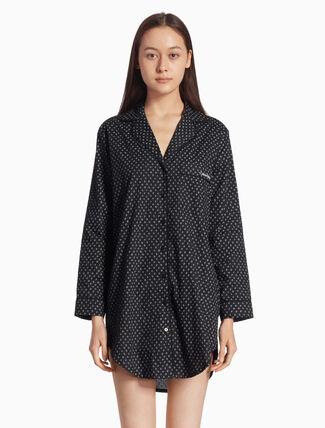 CALVIN KLEIN パターン ナイトシャツ