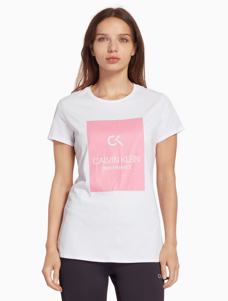 CALVIN KLEIN BILLBOARD 로고 티셔츠