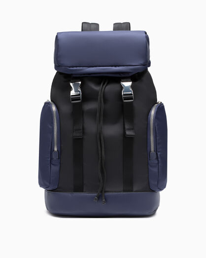 CALVIN KLEIN SLEEK NYLON 2 IN 1 BACKPACK