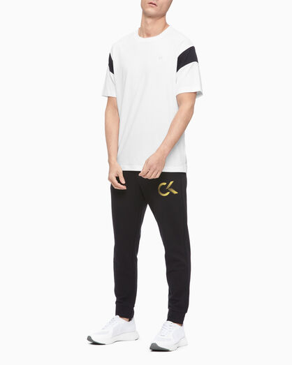 CALVIN KLEIN STATEMENT ESSENTIALS LOGO SWEATPANTS