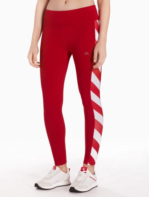 CALVIN KLEIN SIDE PANEL ANKLE LENGTH LEGGINGS