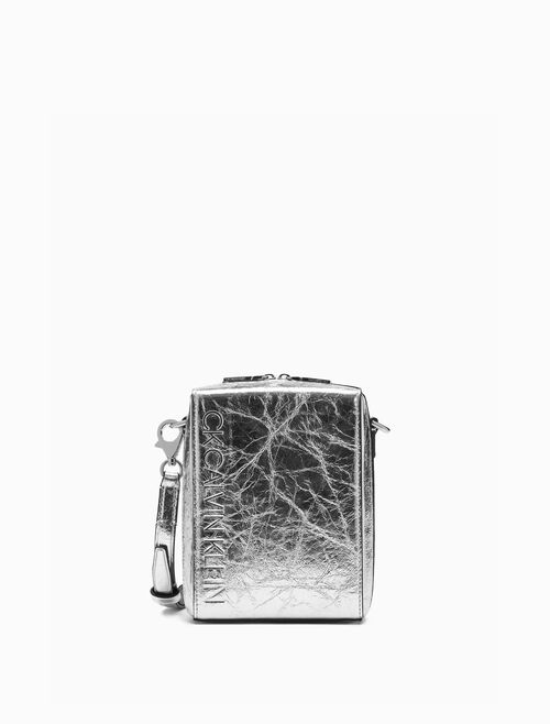 CALVIN KLEIN METALLIC CAMERA CASE