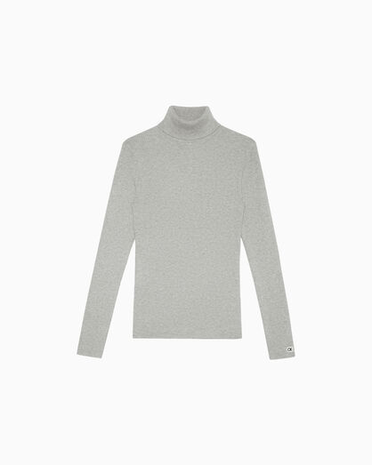 CALVIN KLEIN RIB KNIT TURTLENECK SWEATER